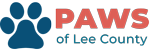 Paws Of Lee County Logo